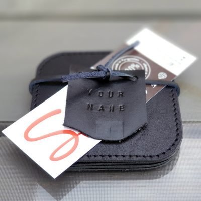 Leather Coasters_Black_2020