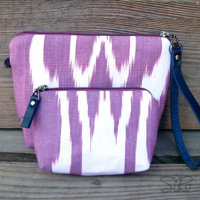Ikat Make-up bag Harat