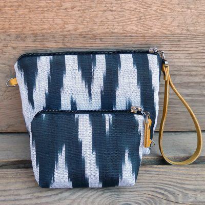 Ikat Make-up bag Kashgar