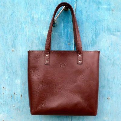 Urban Collection TASH RABAT Handbag CHESTNUT BROWN