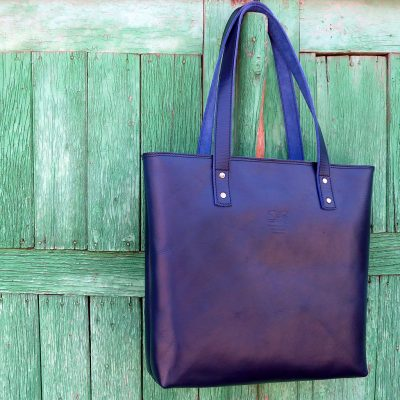 Lederhandtasche-Urban-Collection-Tash-Rabat-Kobalt-blau