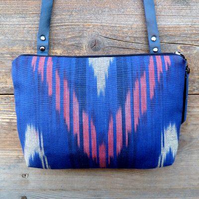 crossbody bag ikat-murghab