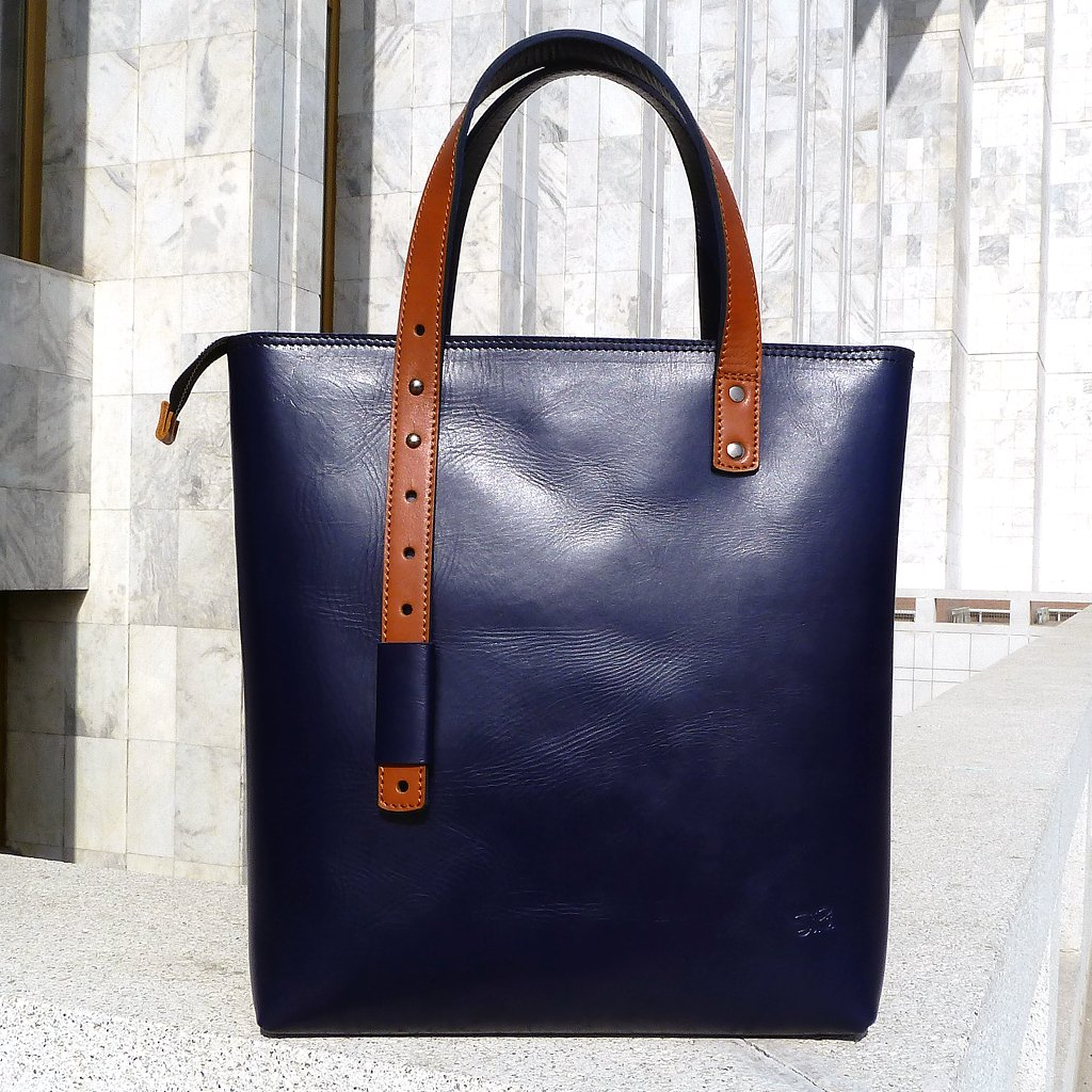 Handbag PAMIR – Blue&orange