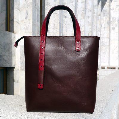 Urban Collection - Design bag PAMIR - Brown&red
