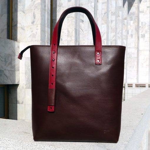Urban Collection - Design bag PAMIR - Brown&red