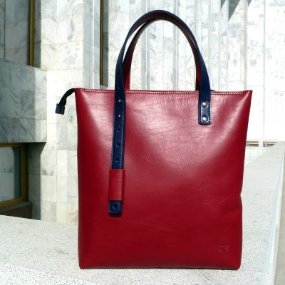 Urban Collection - Handbag PAMIR - Red&blue