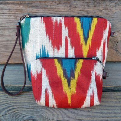 Ikat Make-up bag Taraz