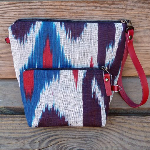 Ikat Make-up bag Turfan