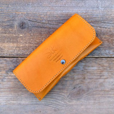 leather glasses case-deluxe-light-cognac
