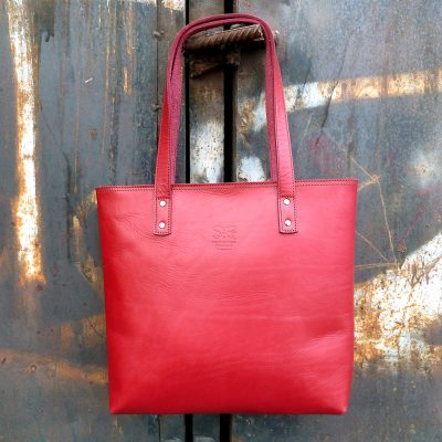 Urban Collection TASH RABAT Handbag CHERRY RED