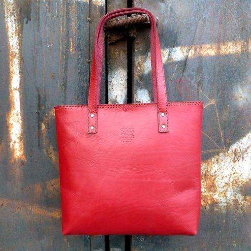 Urban Collection TASH RABAT Handbag CHERRY RED