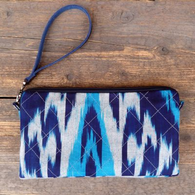 Ikat Wallet Clutch-Talgar