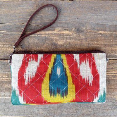 Ikat Wallet Clutch-Taraz