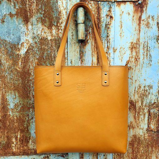 TASH RABAT Handbag LIGHT COGNAC