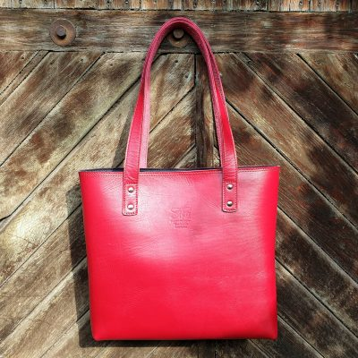 TASH RABAT Totebag CHERRY RED