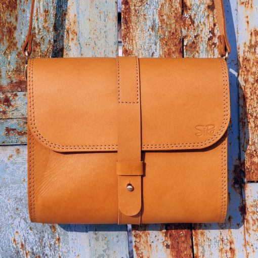 Saddlebag Burana_light cognac