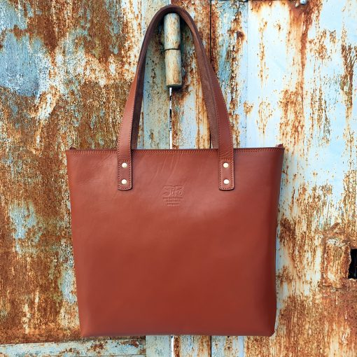 Tash Rabat_Cognac_Handbag Leather