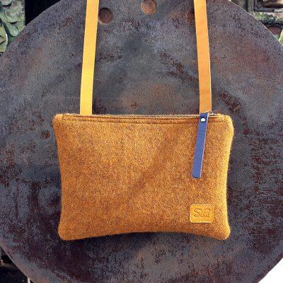Crossbody bag Felt Arslanbob