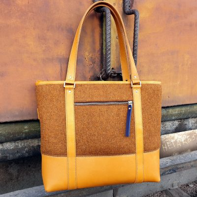 Handbag Felt Arslanbob