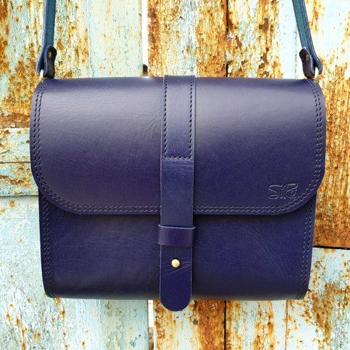 Saddle Bag Burana_blue