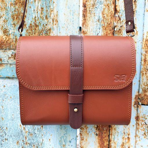Saddle Bag Burana_cognac brown