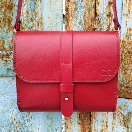 Saddle Bag Burana_red
