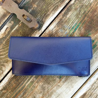 Leather Wallet_Indigo