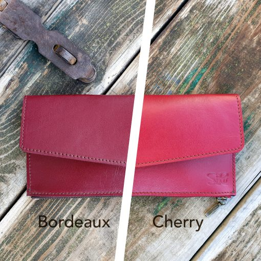 Leather Wallet_Red