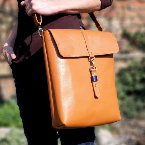 Ala Too_Crossbody Backpack_Natural Orange