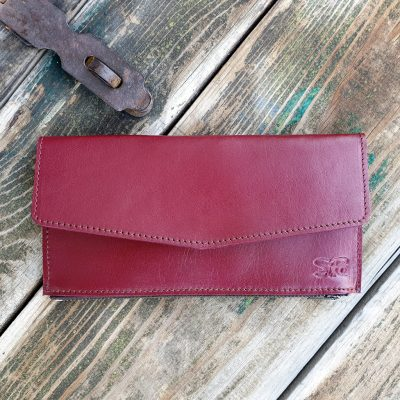 Wallet_Bordeaux Red