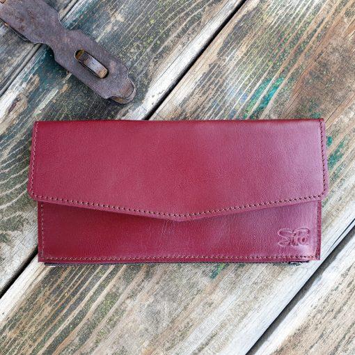Wallet_Bordeaux Red