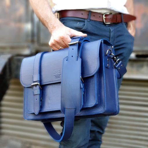 Messengerbag_Taklamakan_14inch_Kobalt Blue