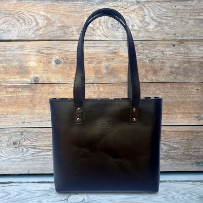 Leather Ikat Tote - KASHGAR