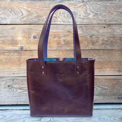 Leather Ikat Tote - TALGAR