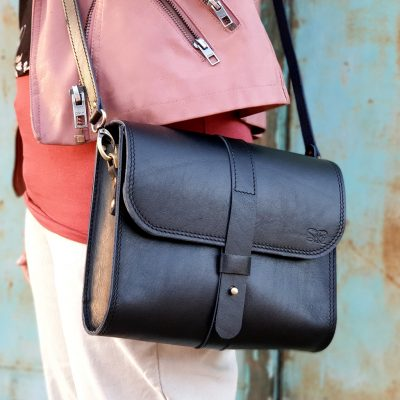 Saddle Bag Burana Black