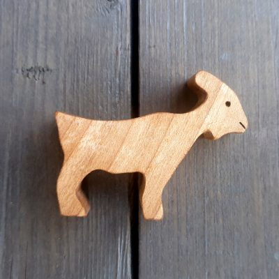Small Wooden Goat