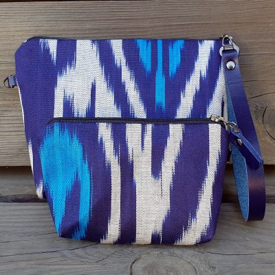 Ikat Make-up and keybag