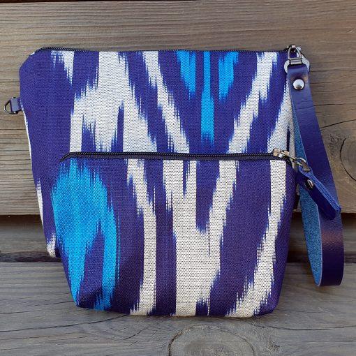 Ikat Make-up and keybag