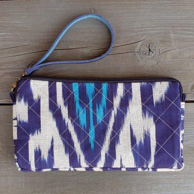 Ikat Clutch-Wallet KHOJAND