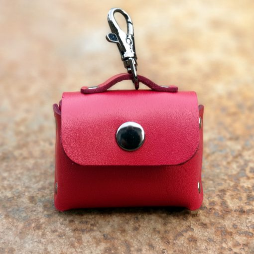 Leather Small Bag Earphone Case