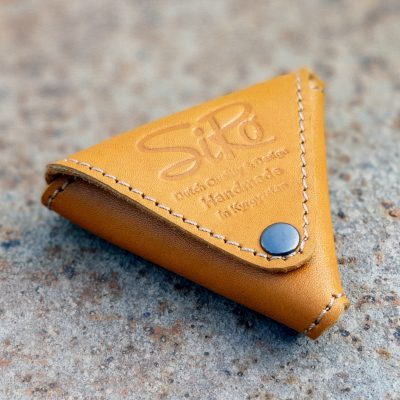 Leather Triangle Earphone Case